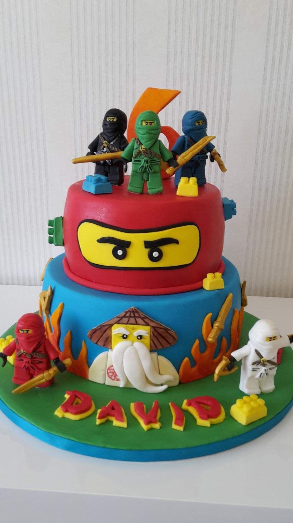cake design lego ninjago Ninjago  Desserts, Cake, Birthday cake