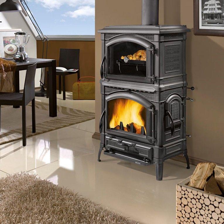 La Nordica ISOTTA FORNO Gussofen - Akzentro GmbH | Wood heat and ...