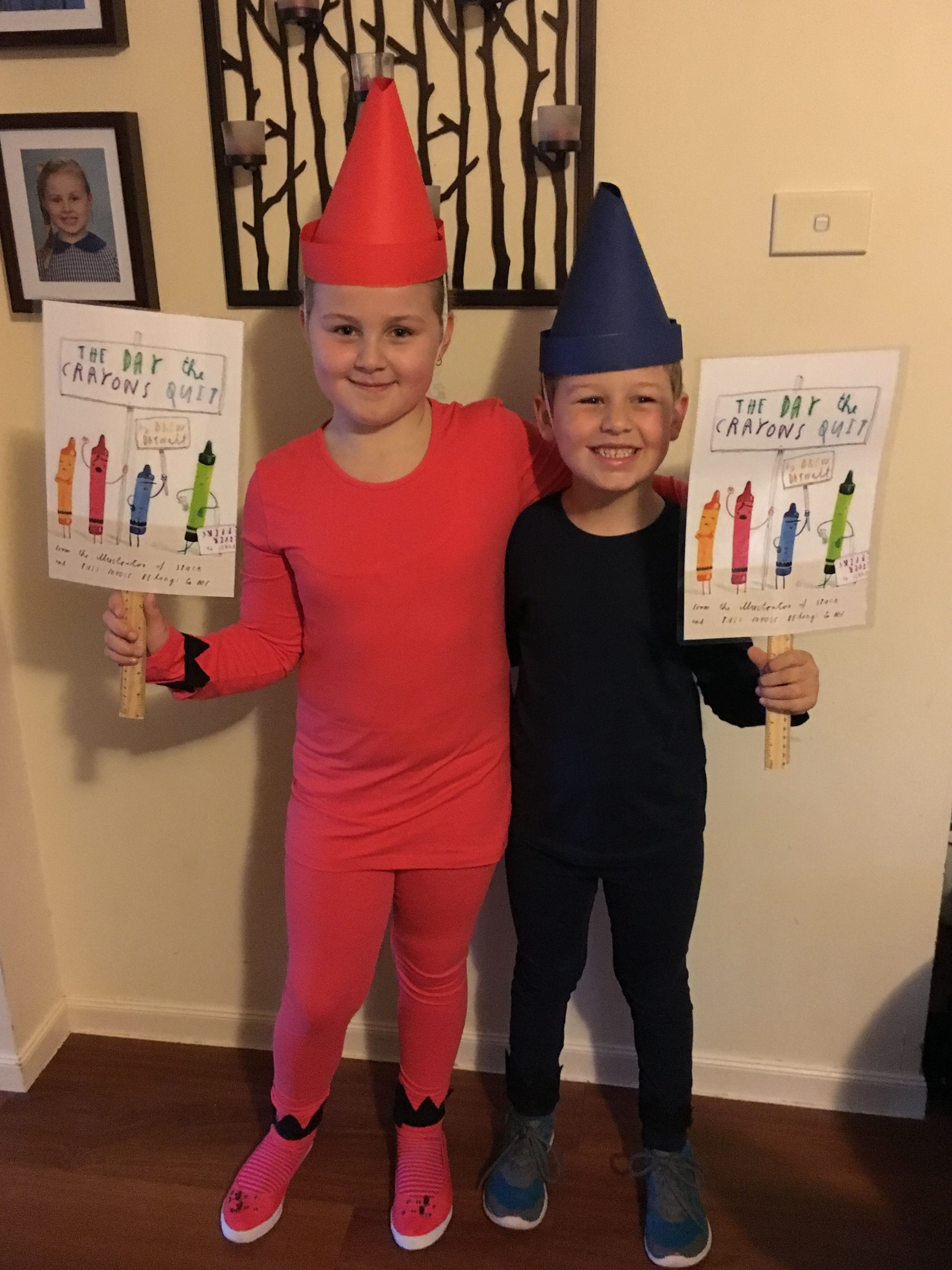 Calendar Dress Up Ideas : Crayons from the day quit book week costumes
