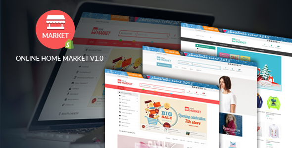 Download Free Home Market - Flexible Shopify Theme # advance