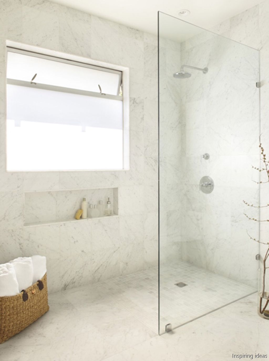 75 Curbless Shower Ideas that Pretty Awesome | Mid century modern ...