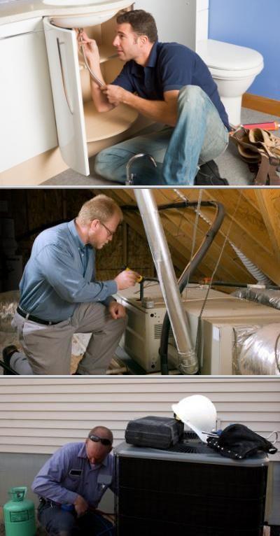 Plumbing Water Heater Repair Air Conditioning Services Plumbing