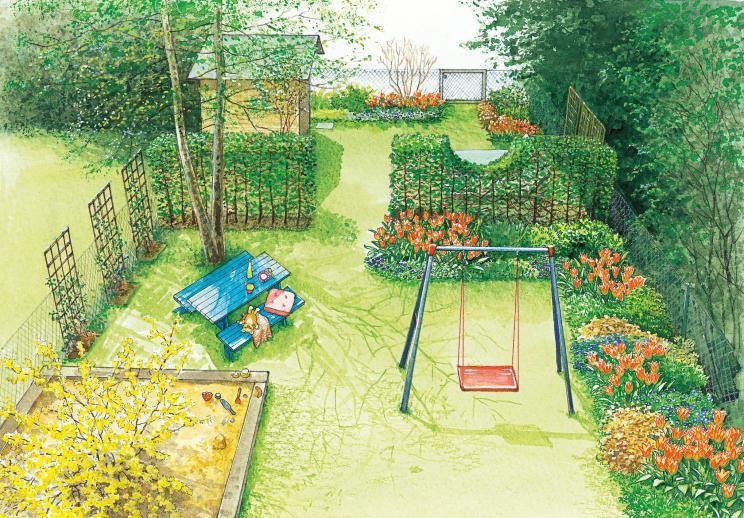 Ein reihenhausgarten im neuen gewand reihenhausgarten for Neuen garten anlegen