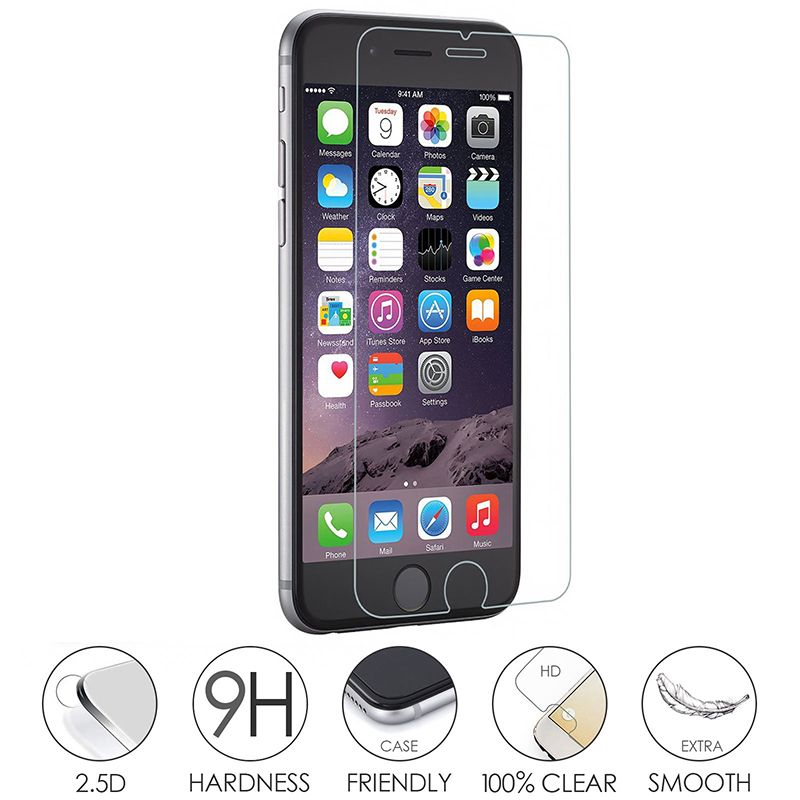 Handys & Telekommunikation 9 H 2.5d Hd Gehärtetem Glas Für Iphone 6 6 S Plus 7 7 Plus 5 S Se 8 8 Plus X Glas Iphone 7 8 X Screen Protector Iphone 7 8 X Glas