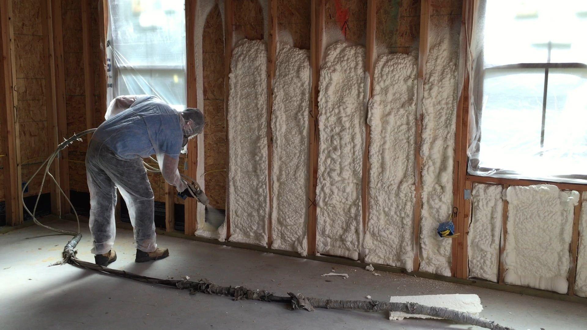 Spray foam insulation Spray foam insulation, Foam
