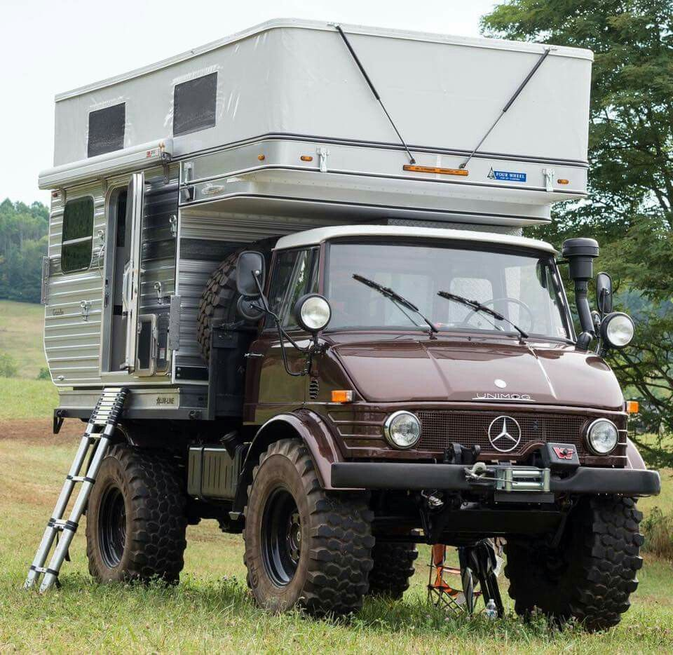 unimog camper mog mercedes truck truck camper off