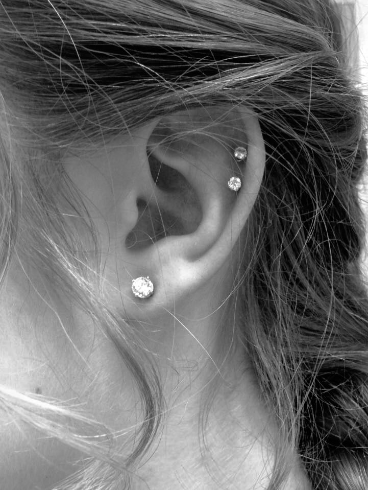 Etwas Neues genug Snake bite piercing; Double Helix Piercing | Wishlist | Pinterest #FK_46