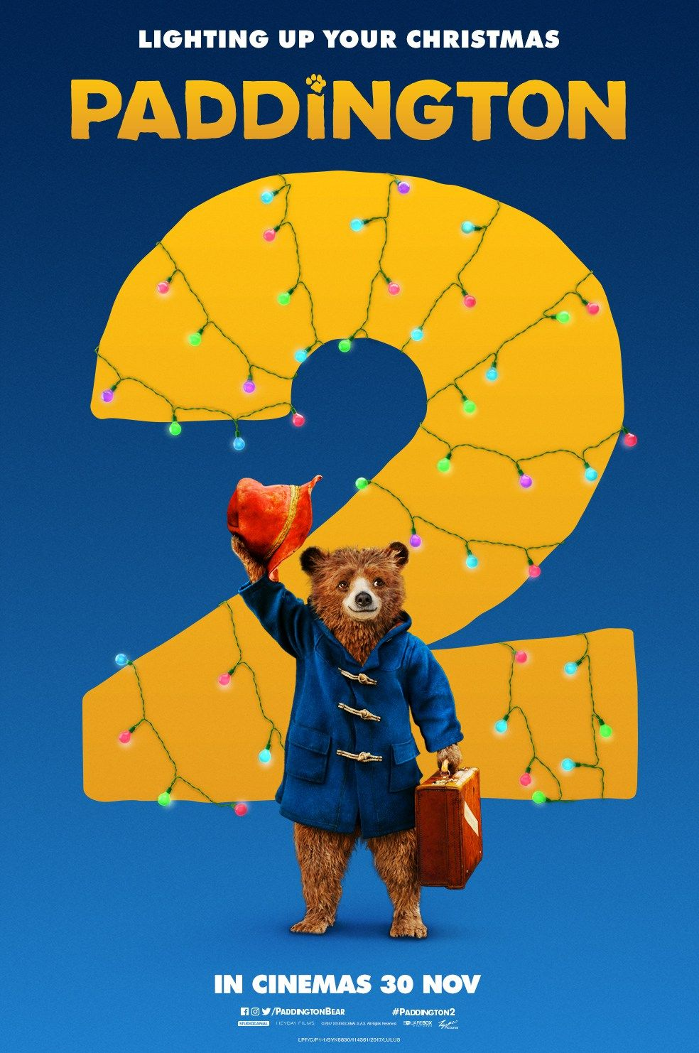 Image result for paddington 2 movie poster""