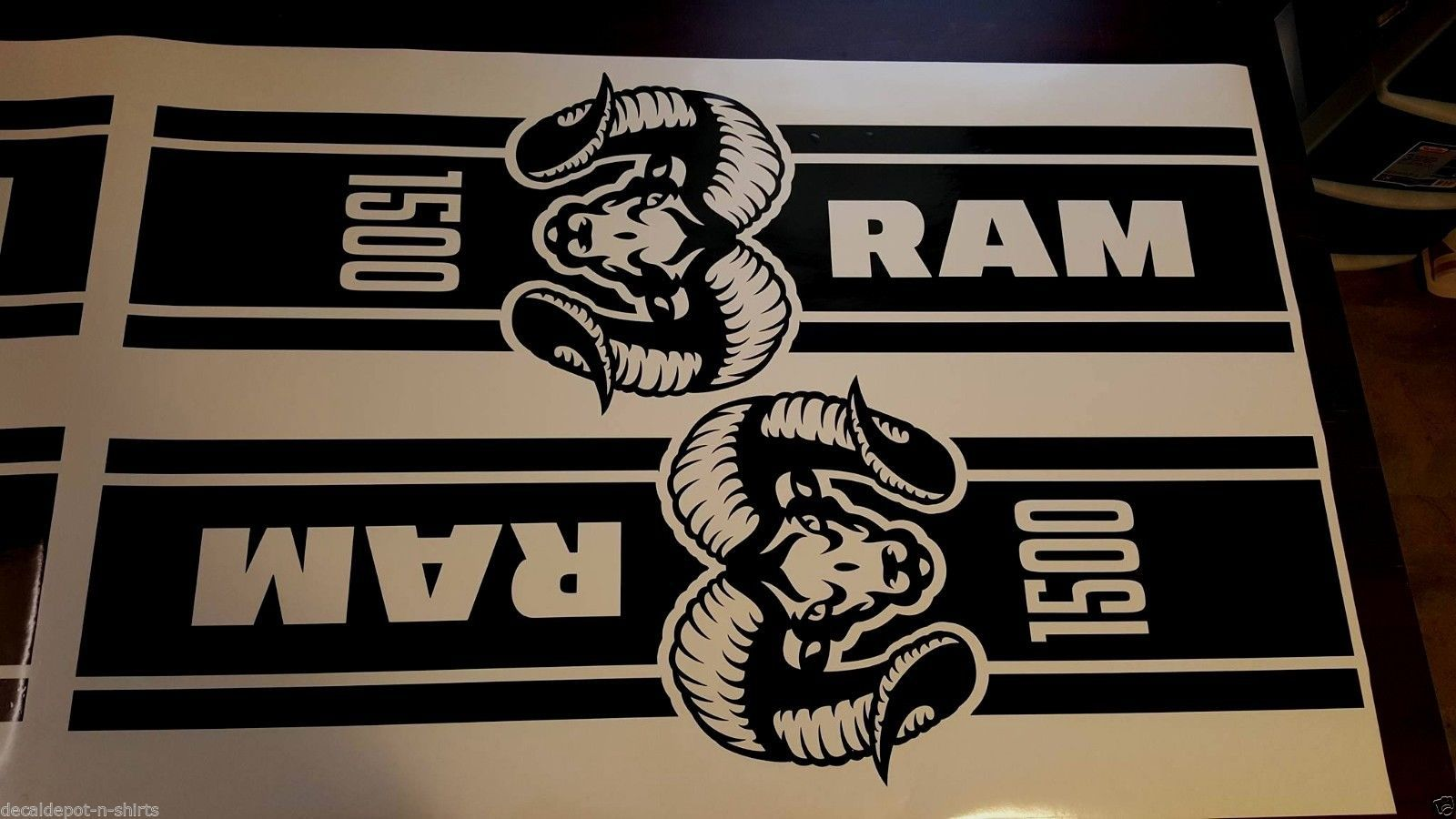 Dodge Ram 1500 2500 3500 Truck Bed Box Graphic Stripes