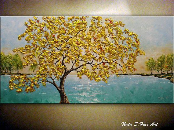 Fall Tree Painting, 48\