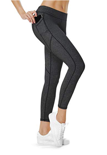 1f8455f17b0304 I love leggings with a cell phone pocket! Find these on Amazon! Compression  Yoga