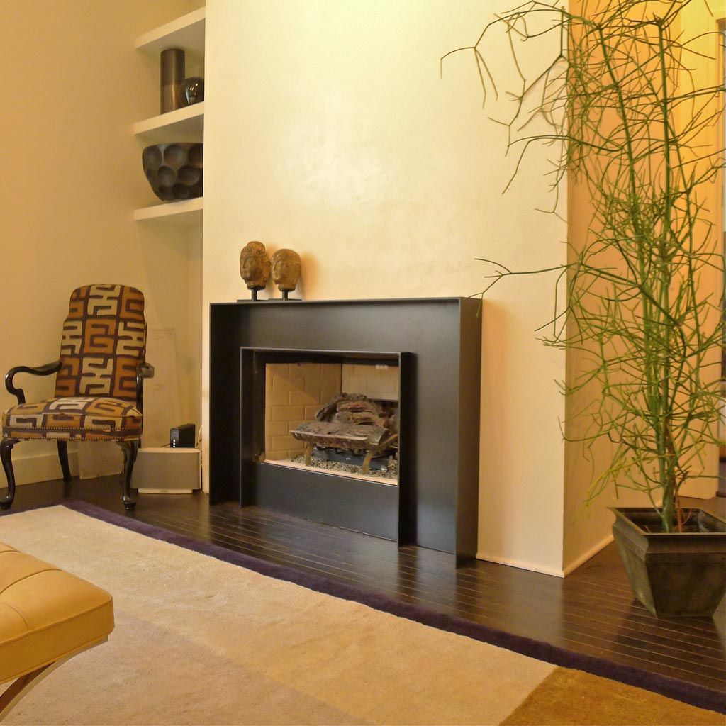 Modern Fireplace Surrounds Design | Fireplace | Pinterest | Modern ...
