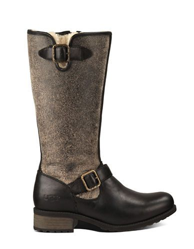 Chancery Sheepskin and Leather Boots | Lord and Taylor