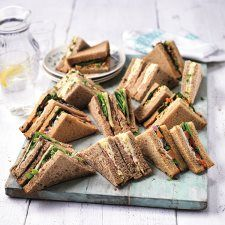 Teasy Entertain Vegetarian Sandwich Platter 20 Piece