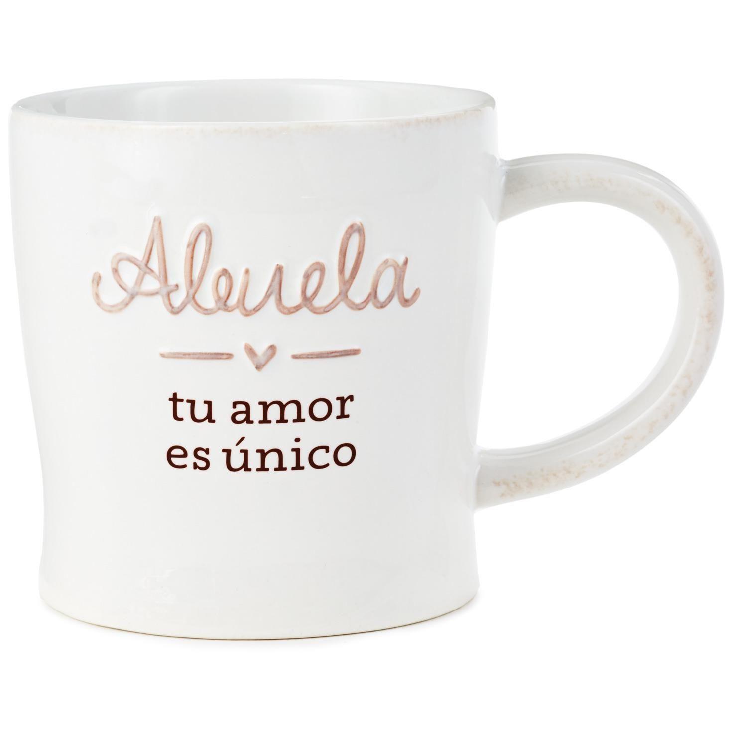 Grandma your love is unique spanishlanguage mug 12 oz