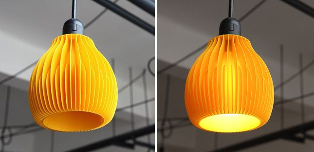 These 3D Printed Lampshades Are Stunning