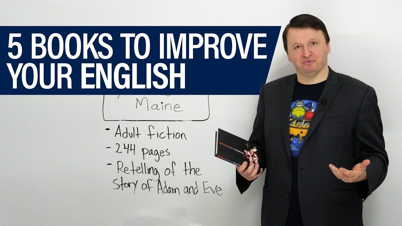 5 books to improve your English - YouTube | Learn english