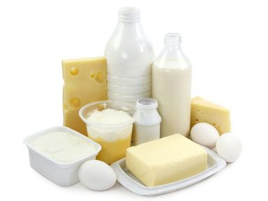 Low fat dairy products are abundant in calcium which help to fortify hair. Skim milk, yogurt, and cottage cheese are all good choices.