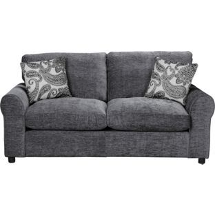 Buy Tessa Fabric Sofa Bed Charcoal At Argos Co Uk Your