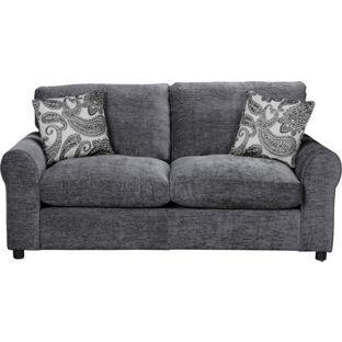 Sofa BedSleeper Sofa Buy Tessa Fabric Sofa Bed Charcoal at Argos co uk Your Online