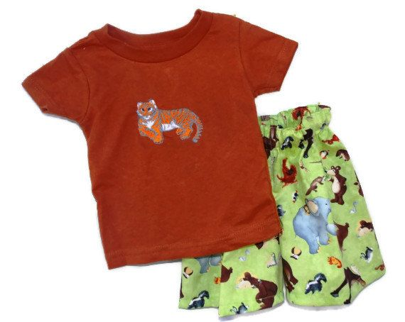 Baby Boys pants and T shirt 12 months green and by SouthernSister2, $25.00 @Etsy