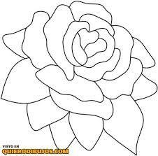 rosa para   pintar