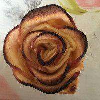 Rose de Pommes feuilletées