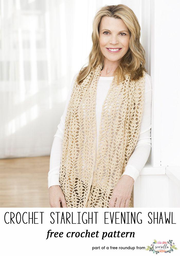 Stylish Crochet Shawls Roundup   Pinterest   Chal y Tejido