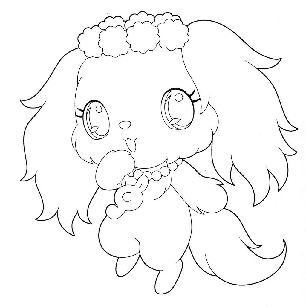 sapphie jewelpet coloring page jewelpets coloring sheets