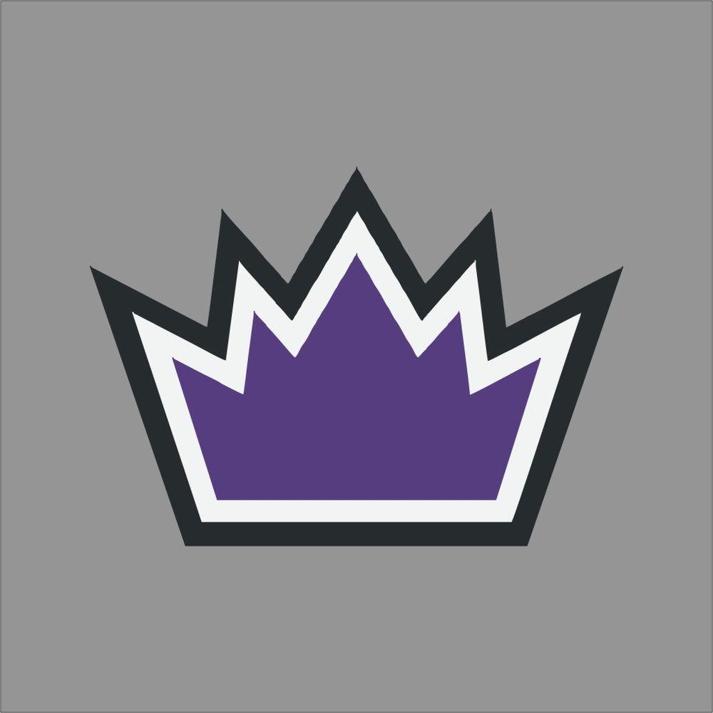 Sacramento kings 4 nba team logo vinyl decal sticker car window wall unbranded