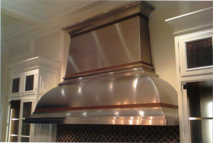 Custom Stainless Steel French Bell Kitchen Hood Kitchen Hoods Kitchen Inspirations Cool Kitchens