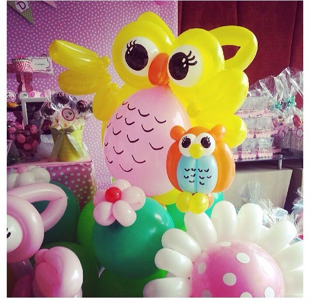 Owl balloon animal way cool stuff pinterest twists