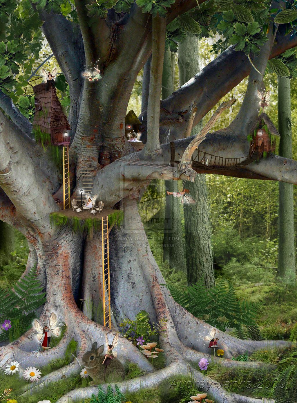 Worksheet Fairy Tree 1000 images about fairy tree house on pinterest birdhouses trees and a tree