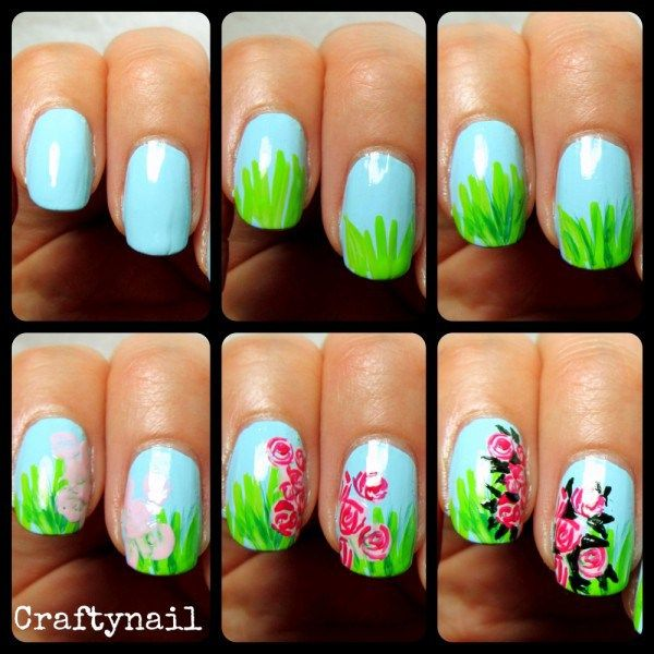 Andersen\'s Tales and Stories: {The Snail and the Rose-Tree} Nail Art ...
