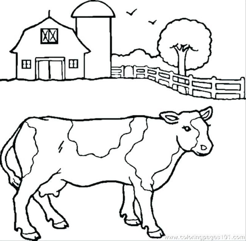 Cute Cow Coloring Pages Ideas In 2020 Cow Coloring Pages Farm Animal Coloring Pages Farm Coloring Pages