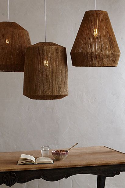 Bungalow Pendant Lamp, Small - anthropologie.com #anthrofave