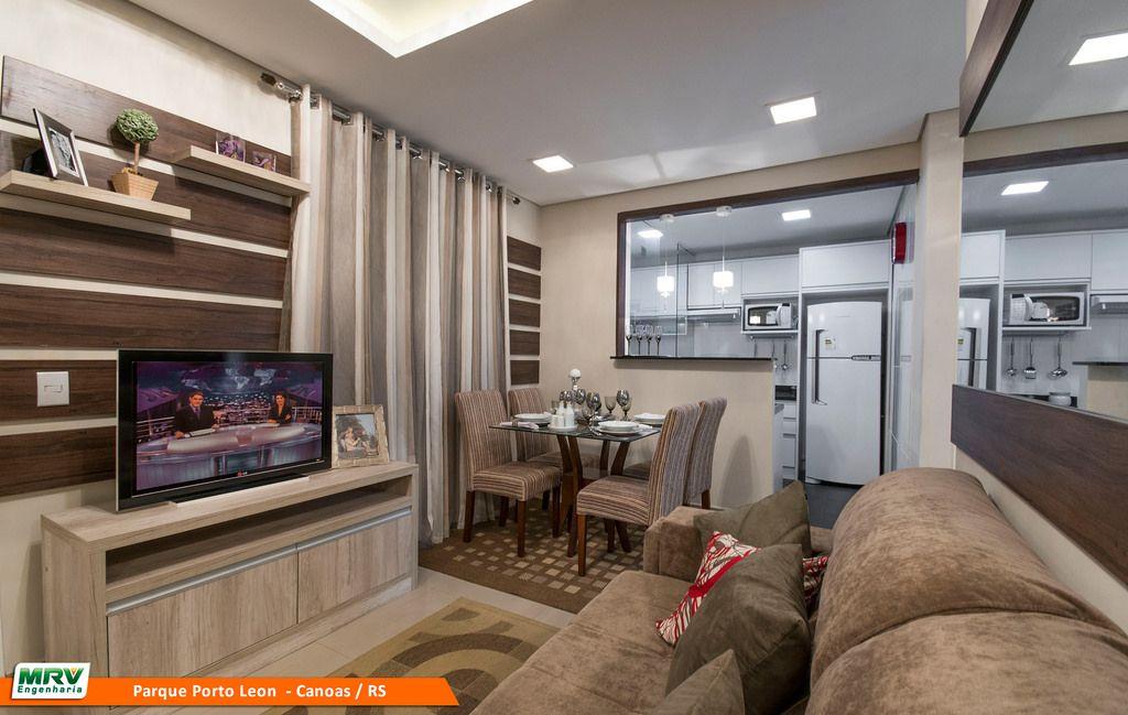 Galeria de decoraç u00e3o MRV Decora MRV Engenharia Ideias para a casa Decoraç u00e3o apartamento