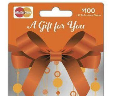 Photo of $100 MasterCard Gift Card Giveaway
