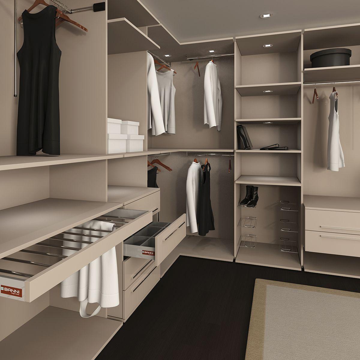 Vestir armarios por dentro ideas para organizar los - Vestir armarios por dentro ...