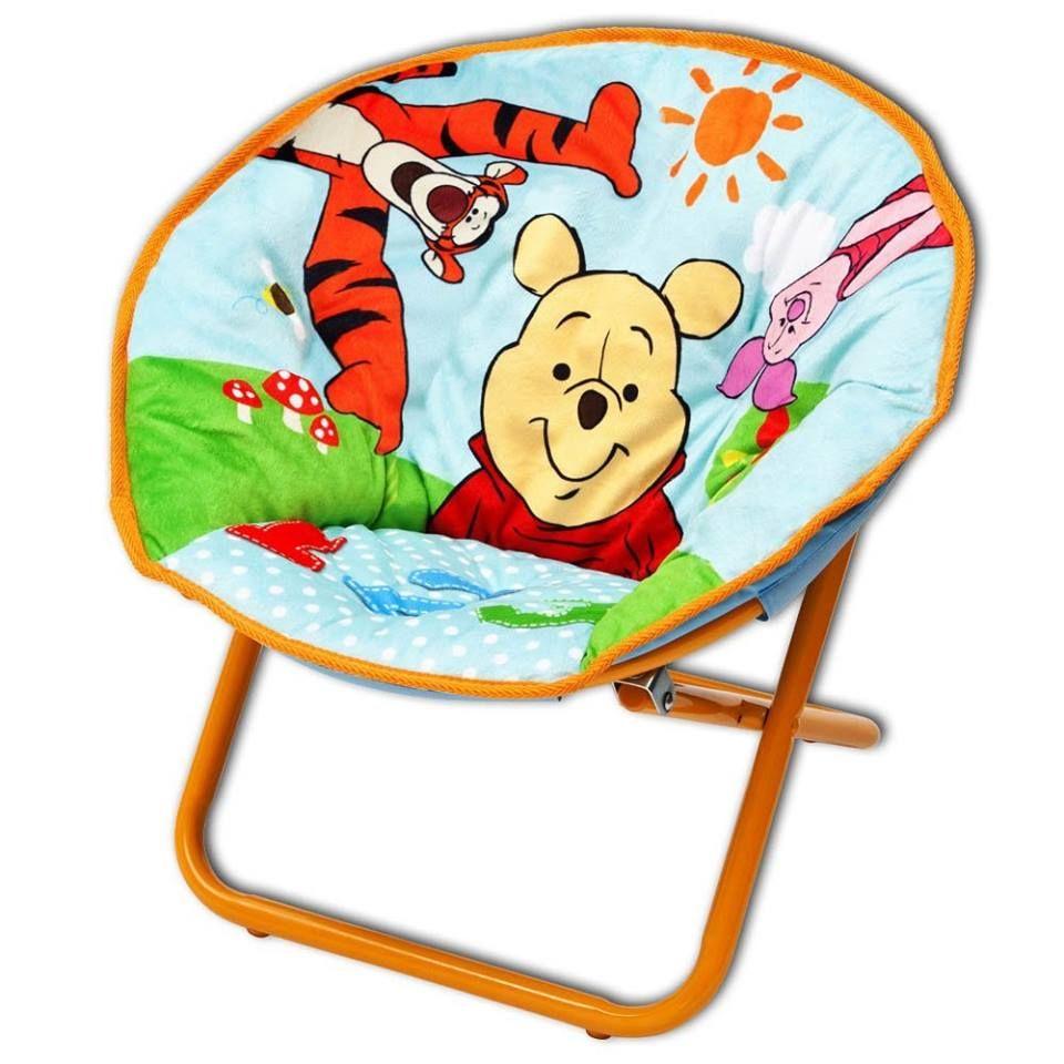 Awesome S er Mondstuhl f r das Kinderzimmer Mit Winnie Pooh Motiv