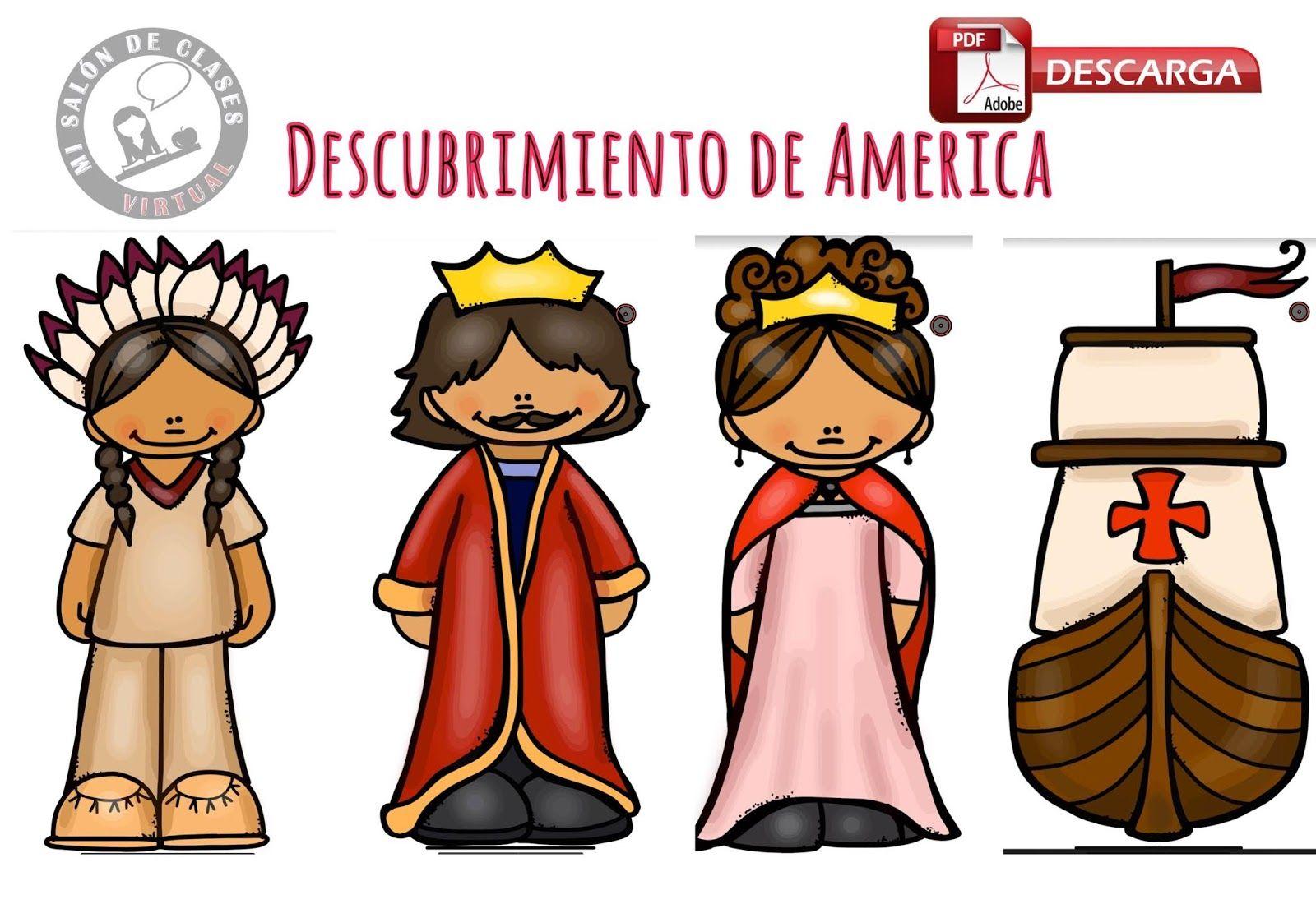 12 De Octubre Descubrimiento De América Imágenes Octubre Preescolar Estudios Sociales