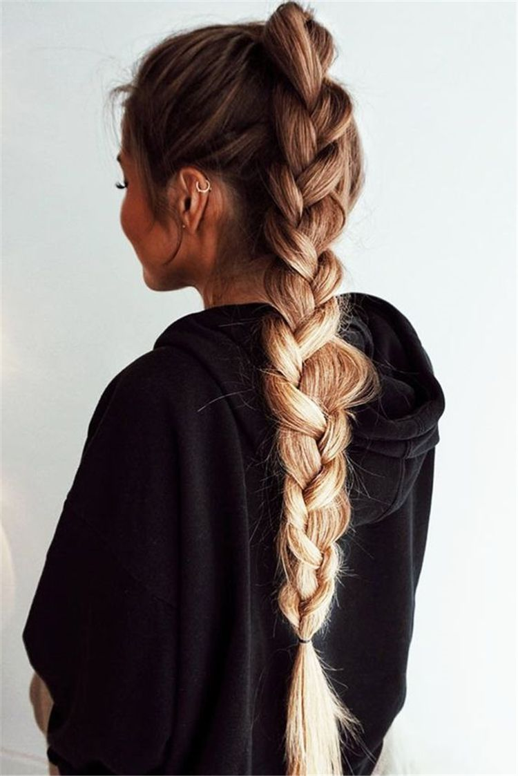 50 Gorgeous And Easy Winter Hairstyles For Long Hair You Must Know Page 13 Of 50 Style De Cheveux Coiffure Facile Coiffure