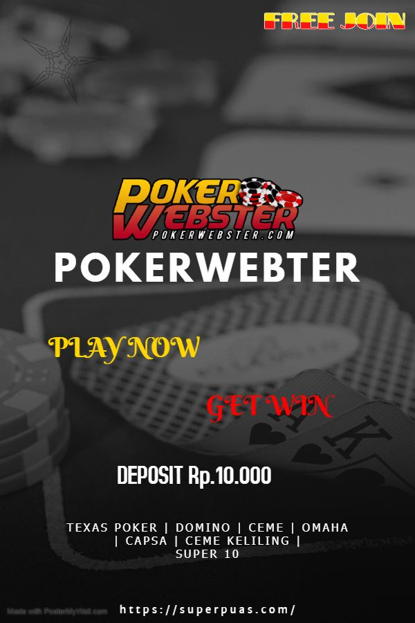 Pin oleh Pokerwebster Official di Pokerwebster | Poker, Kartu