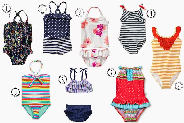 Toddler Summer Swim Favorites | Little Ladies