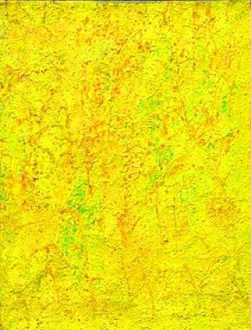 Beauford Delaney, Yellow Abstraction