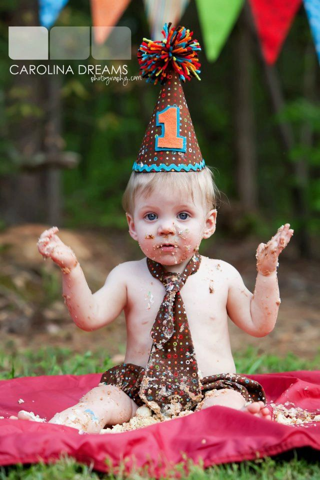 Dots 1st Birthday Outfit Hat Tie And Diaper Cover Cake Smash Photography Prop You Pick Your Colors 5000 Via Etsy