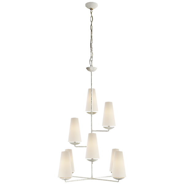 Fontaine Vertical Chandelier By Aerin Circa Lighting Visual Comfort Chandelier Chandelier