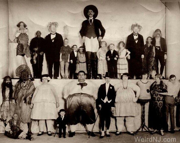 Vintage Circus Sideshow...