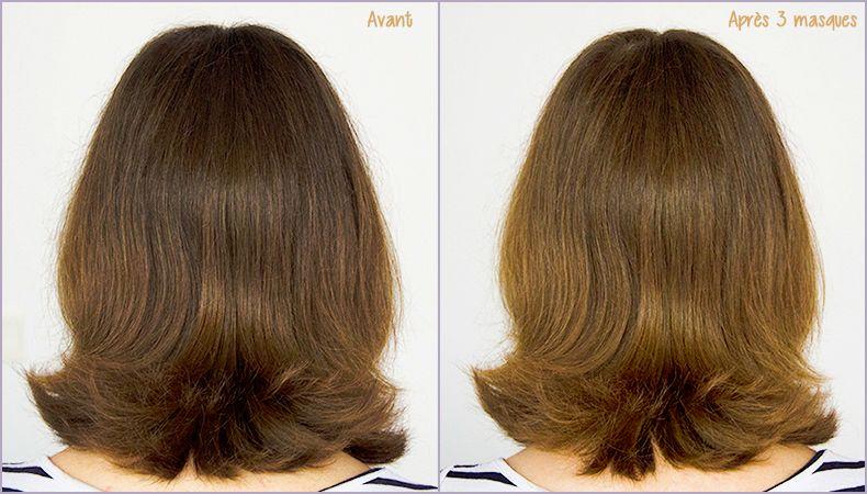 Masque naturel cheveux miel