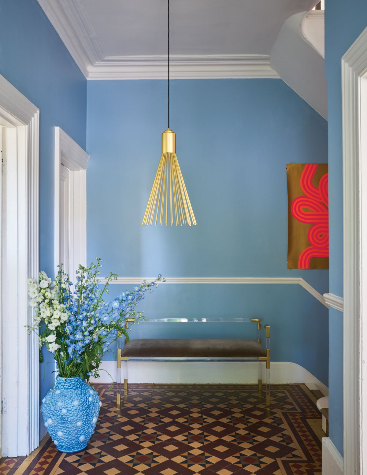 Best Hallway With Ceiling In Wimborne White No 239 And Walls In 400 x 300